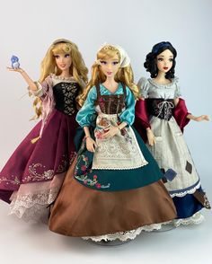 Disney Store Poupées Limited Edition (depuis - Page 5 Disney Barbie Dolls, Disney Princess Dolls, Disney Collector Dolls, Disney Princess Doll Collection, Real Disney Princesses, Rapunzel Barbie, Beautiful Barbie Dolls, Pretty Dolls, Princesa Ariel Disney