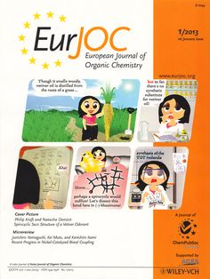 Philip Kraft, Natacha Denizot, Synthesis of a Spirocyclic seco-Structure of the Principal Vetiver Odorant (–)-Khusimone, Eur. Vetiver Oil, Feature Article, Organic Chemistry, Cover Pics, Bond, Let It Be
