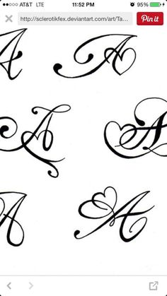 Thinking of an M for my daughter - Initial Tattoo - Creative Garden Ideas - Best Bedroom Decor - DIY Hairstyles - Electroformed Jewelry Mini Tattoos, Name Tattoos, Body Art Tattoos, Small Tattoos, Tattoo Lettering Fonts, Hand Lettering Alphabet, Lettering Styles, Mehndi Art Designs, Henna Tattoo Designs