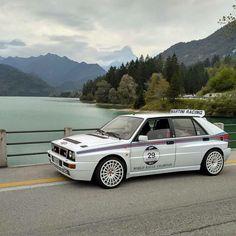 Lancia Delta Rally Car, Car Car, Fiat Panda, Lancia Delta Integrale, Move Car, Toyota Supra Mk4, Automobile, Hatchback Cars, Subaru Cars