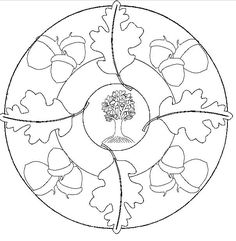 nut mandala coloring pages printable and coloring book to print for free. Find more coloring pages online for kids and adults of nut mandala coloring pages to print.
