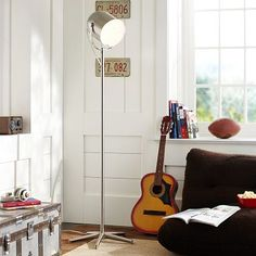Lights Up Floor Lamp #potterybarnteen
