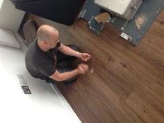 Living room floor finished