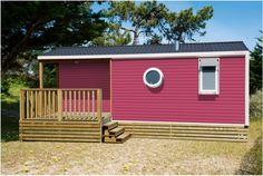 O`HARA-Mobilheim, Front 2017 in Aprikose über green camping home O`HARA-Mobilheim Front 2017 in Anis über green camping home O`H...