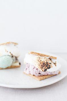S'mores ice cream sandwiches. Xo, LisaPriceInc.