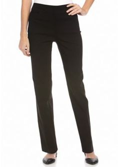 New Directions  Petite Pull on Faux Pocket Pants