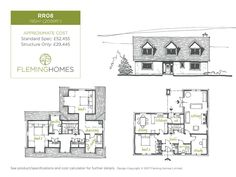 House Designs and Floor Plans - Fleming Homes Roof Design, House Design, House Roof, Design Projects, Building A House, House Plans, New Homes, Floor Plans, Flooring