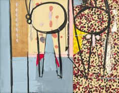 """Robert Motherwell, """"Pancho Villa, Dead and Alive"""" (1943) Courtesy the Solomon R. Guggenheim Museum"""