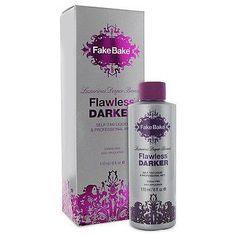 Fake Bake Flawless Darker Self Tan with Mitt 6 oz