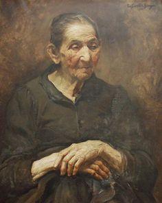 Emília dos Santos Braga, Retrato da velha (1908, MJM) - http://www.matriznet.dgpc.pt/MatrizNet/Objectos/ObjectosConsultar.aspx?IdReg=43958