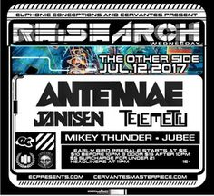 Acid crunk dj An-Ten-Nae at Cervantes' Other Side on Wednesday July 12! Hit claim now!