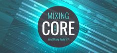 """Have you ever thought about what the audio mixing really is? """"Mixing in its core"""" means that every instrument present in a song is balanced. Sound Samples, Like A Pro, Drum Kits, Have You Ever, Bass, Core, Audio, Songs, Thoughts"""