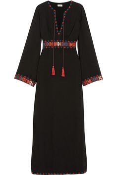 TALITHA Bela embroidered voile maxi dress  $960.00 https://www.net-a-porter.com/products/602190