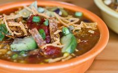 Vegan Tortilla Soup #recipes #soup