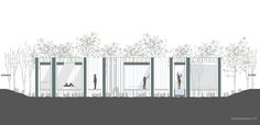 Inspiration Hotel. Hotel para la inspiración #lafuentesilvaarquitectos #views #architecture #arquitectura #archidaily #architect #arquitecto #design #glass #vidrio #light #courtyard #patio #vegetacion #minimal #minimalismo #building #hotel #art #artistas #interior #exterior  #lifestyle #architecturelovers #architecture_hunter #volumes #volumenes #project #contemporary