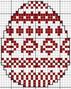 Яйца с вышивкой крестиком
