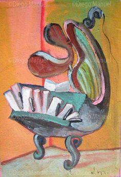 artist piano Price of original painting us$300