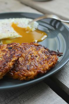 Sweet Potato Hash Browns – The ultimate way to get your breakfast veggie. Use sprouted-grain or quinoa flour.