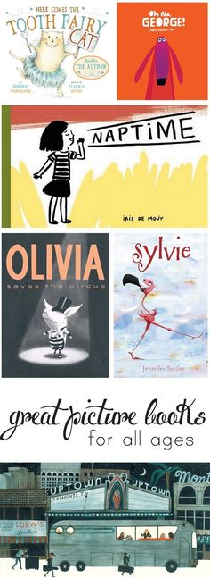 Picture book picks from a mom and librarian - you won't mind reading these fifty times!