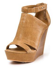 "Michael Kors ""Lara"" Platform Wedge Sandals"