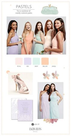 Nothing says springtime like pastels!