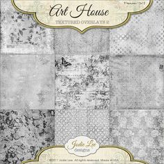 Check out Art House Textured Overlays #2 by Jodie Lee Designs on Creative Market