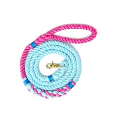 Skipper Leash from Lasso Rope Leash, Mini Goldendoodle, Brass Fittings, Cotton Rope, Dog Supplies, Pet Accessories, Twine, Solid Brass, Collars