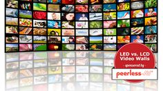 LED or LCD: Finding the best video wall solution