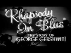In 1926 Gershwin recorded Rhapsody in Blue using piano roll technology. More recently, in 1987, the Denver Symphony Orchestra recorded it with Gershwin as soloist via the piano roll. (The film footage comes from the 1945 biopic.)