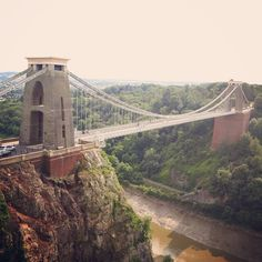 Clifton Bridge : Bristol, UK