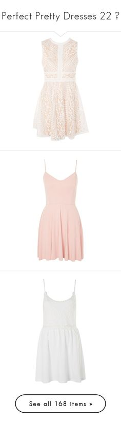 """Perfect Pretty Dresses 22 ♥"" by allweknowisfalling ❤ liked on Polyvore featuring dresses, nude, a line midi dress, midi dress, mid calf dresses, calf length dresses, pink dress, pink skater dress, strap dress and strappy skater dress"