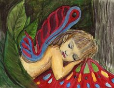 My Fairy Emily Fairy Land, Fairy Tales, Children's Book Illustration, Illustrations, Celtic Art, Ink Water, Cool Artwork, Wood Carving, Colored Pencils