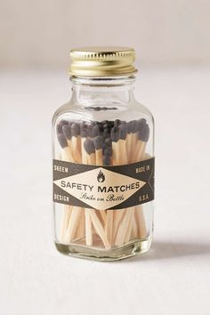 Urban Outfitters Safety Matches Jar