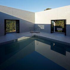 von ellrichshausen, interior, architects, ellrichshausen architect, pool, pezo von, architecture, dream houses, solo hous