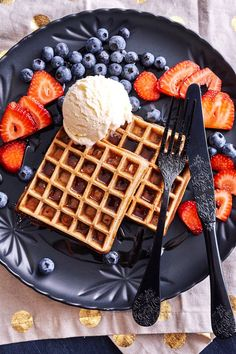 Chai Infused Waffles
