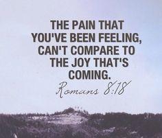 Romans 8:18 #life #scripture