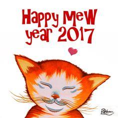 "raphaelvavasseur: "" Happy mew year 2017 ❤ """