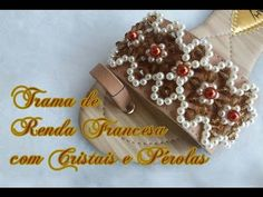 Chinelo decorado com trama de pérolas Vintage - YouTube