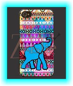 Custom Aztec Elephant Phone Case on Etsy, $10.00