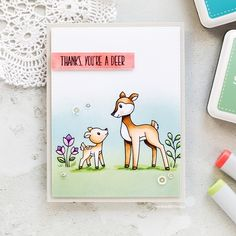 Simon Says Clear Stamps SO DEER SSS101742 Mothers Fathers Florals Preview Image