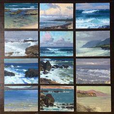 Jeremy Lipking - 6 x 8 studies