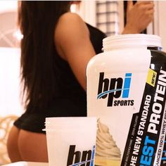Happy #humpday!   @bpi_sports protein = Mega booty gains!! You can train as often and as long as you want but remember muscles need the proper nutrients to grow. @bpi_sports has so many amazing flavors to choose from. Drinking protein has never been so easy  -  Photo cred: @studioblackfilms by shomekeehnfit