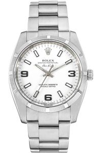 Official Rolex Jeweler with over 100 years of expertise. Discover an array of Rolex luxury watches, including Submariner, Datejust, Explorer, and more. Luxury Watches, Rolex Watches, Rolex Air King, Buy Rolex, Rolex Date, Pre Owned Rolex, Jewels, Stainless Steel, Accessories