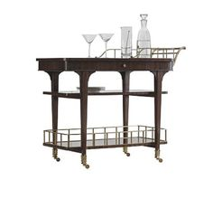 SERVING CART from the Crossroads collection by Henredon Furniture