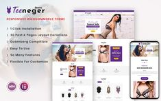 How To Attract Customers, Present Day, Page Layout, Wordpress Theme, Flexibility, Lingerie, Shopping, Design, Style