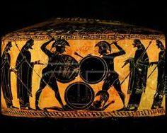 Antiikin Kreikan taide - maljakot ( taustaa).