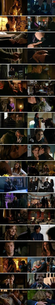 Castle and Beckett now and then: season 5, episodes 1-18, compared to prior seasons.