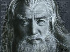 Gandalf the Gray by Cynthia-Blair