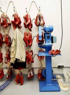 Christian Louboutin's shoe factory