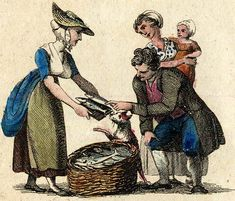 Cries of London, illustrated 1803 from Spitalsfield blog New Mackerel